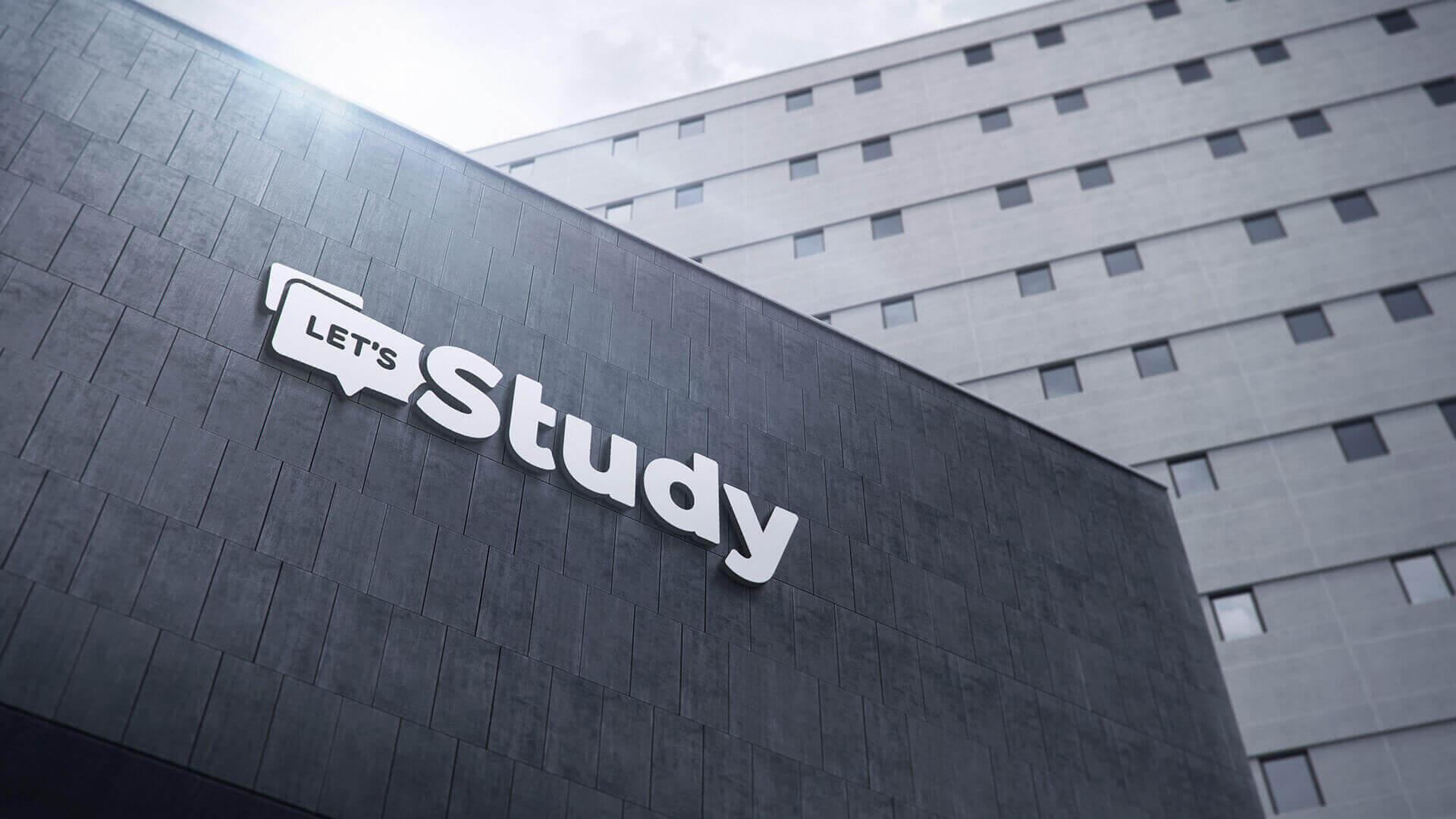 Letsstudy logo præsentation