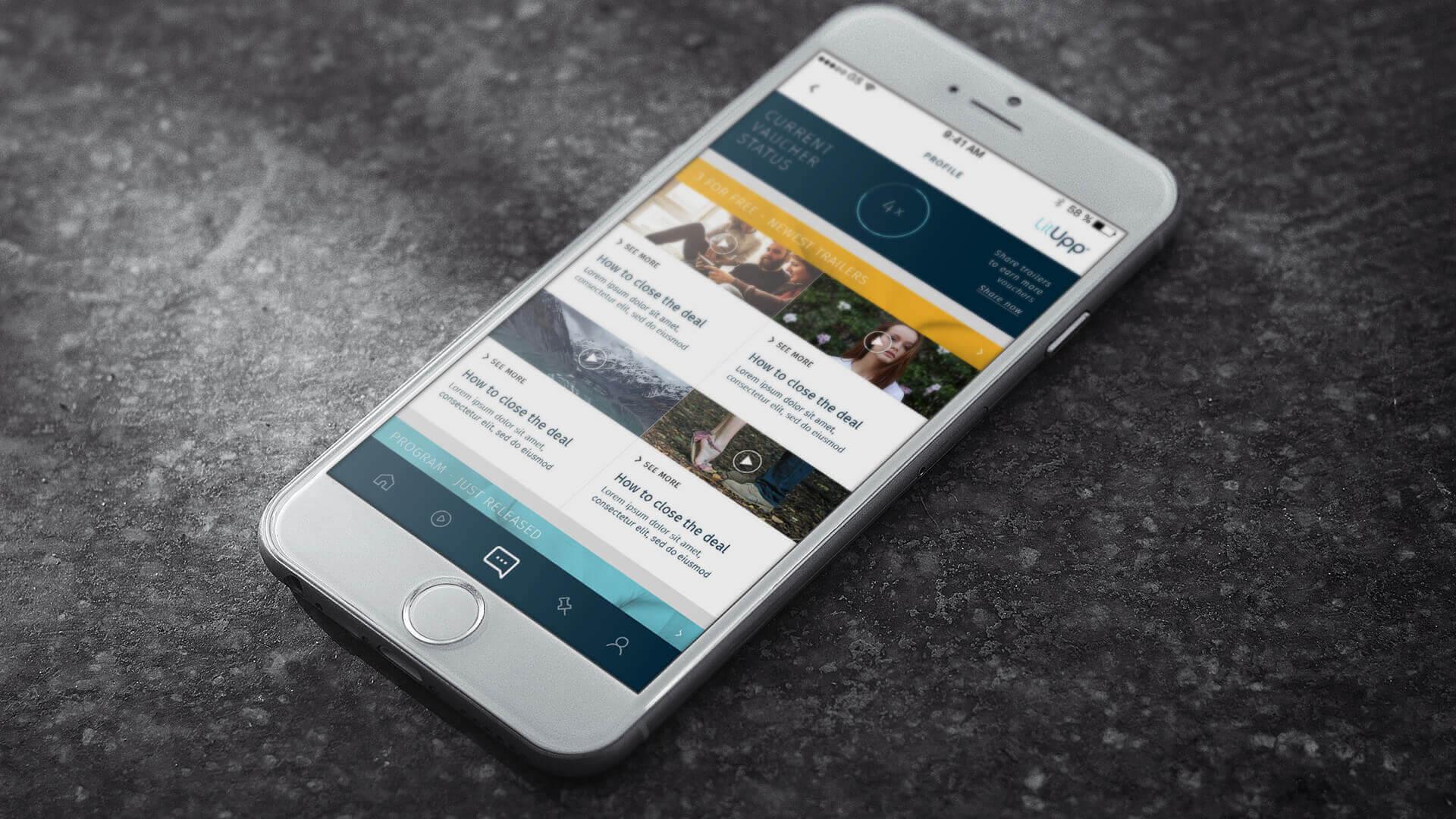 LitUpp app