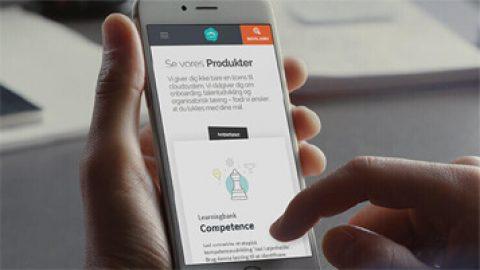 Learningbank: Website, der sælger
