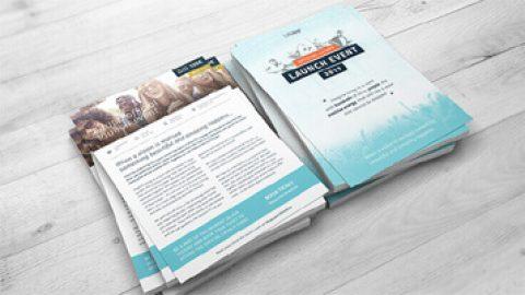 Designmanual og app til litUpp